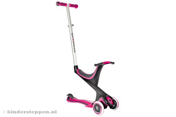 globber my free seat 5in1 pink